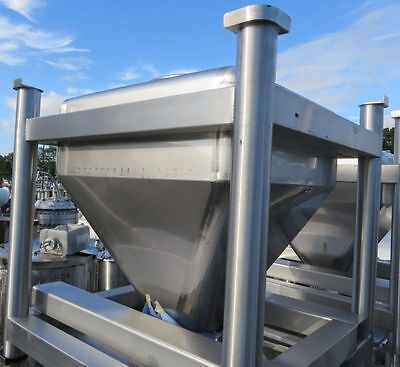 Tote Inc 12 Cft Stainless Steel Bins
