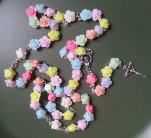 Rose Bead Rosary