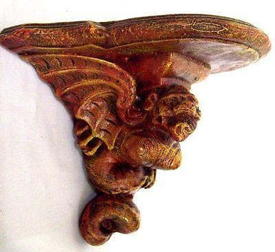 Gargoyle Dragon Wall Bracket Shelf Sconce Gothic Mythical Magic Home Decor