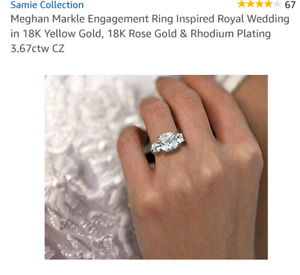 Megan Markle replica wedding ring