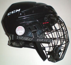 CCM 04 Large Hockey Helmet with CCM FM06 Cage London Ontario image 1