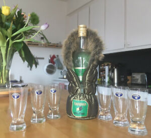 6 verres à shooter neufs - BOHEMIA - Set of 6 new Shot Glasses