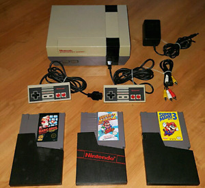 NINTENDO NES / MARIO BROS PACKAGE / ENSEMBLE MARIO BROS