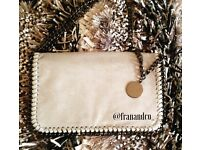 New with tags - light grey Stella McCartney inspired clutch bag