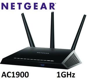 NEW NETGEAR NIGHTHAWK AC1900 SMART WIFI ROUTER - R7000