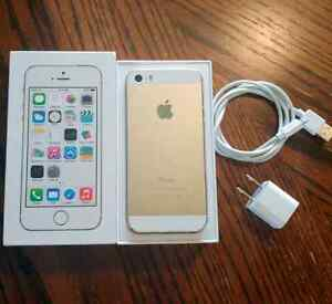 Like New in Box Iphone 5s 64 GB Gold