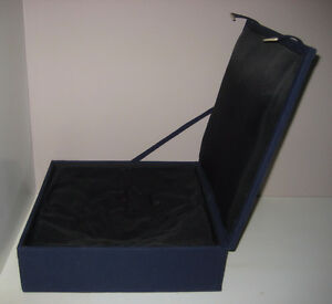 Padded box for Crystal or Chinese Oriental Cinnabar bowl