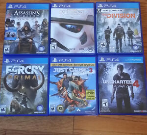 PS4 Games For Sale Windsor Region Ontario image 1