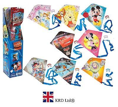 DISNEY FLYING KITES Kids Line Kite Park Beach Toy Christmas Gift Stocking