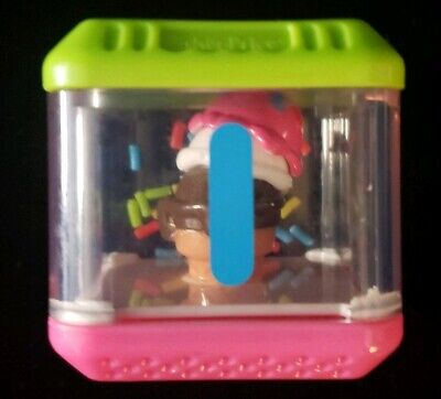 Peek A Blocks LETTER I~ Ice Cream~REPLACEMENT Fisher Price Alphabet *Free Ship*