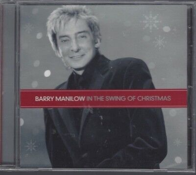 BARRY MANILOW:  In The Swing Of Christmas (CD, 2007, 10 Songs, Hallmark) - - Halloween Songs Pop
