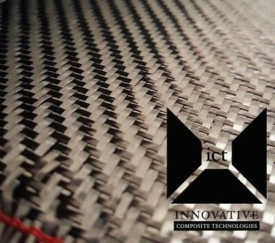 2 Yards Carbon Fiber Fabric Cloth 2x2 Twill Weave - 5.7 Oz 72 X 50