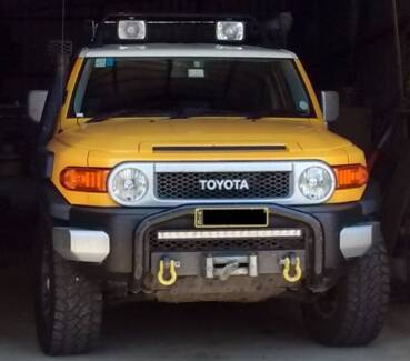 FJ Cruiser Winch Mount & Winch Petersham Marrickville Area Preview