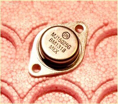 2 Pc Mj15025 Pnp Audio Power Amplifier Transistors To3 Mj15025g