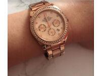 Rolex watch rose gold