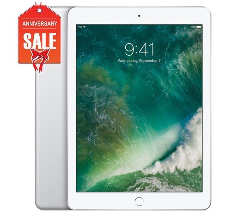 Apple iPad mini 4 128GB, Wi-Fi, 7.9in - Silver (Latest Model) - GOOD COND (R-D)