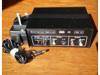 Keene Electronics KDA 1S distribution amplifier with power adapter FOR REPAIR