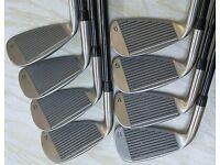 Set 8 Womens Spalding Executive xEZ Oversize Golf Irons, 3-PW, Graphite Shafts