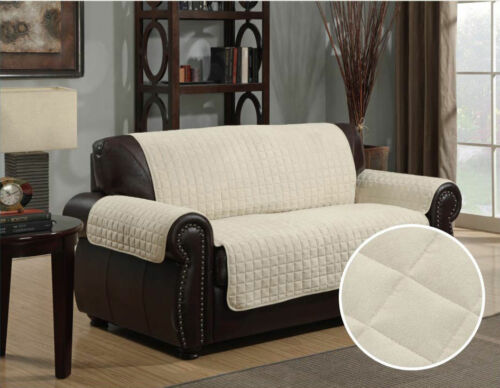 Kids Furniture Protector Quilted Microfiber Sofa Cover Chair