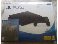 new ps4 slim 500gb and god of war game