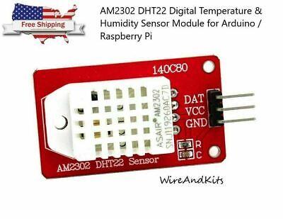 Am2302 Dht22 Digital Temperature Humidity Sensor Module For Arduino Uno R3