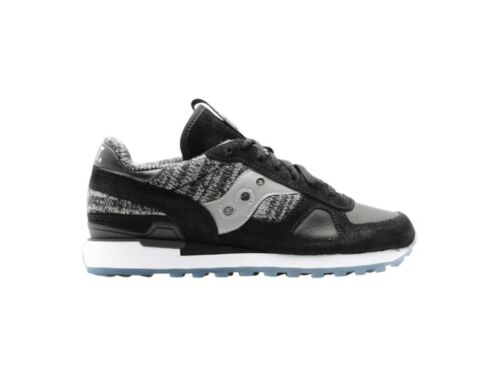 "Bait x Saucony Shadow ""Cruel World 3 – Global Warming""/ US 10.5/ Blk-Gry-Wht"