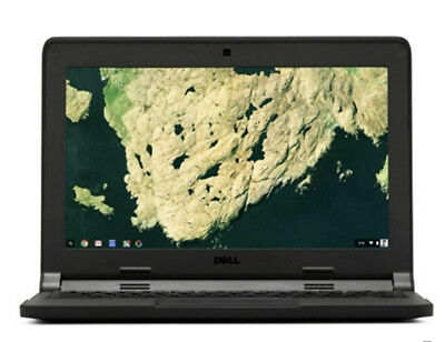 "New Dell Chromebook 11 3180 11.6"" LCD Intel Celeron N3060 4GBRAM 16GBHD"