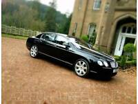 Bentley for chauffeuring services