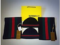 Gucci GG Hat & Scarf Sets - BRAND NEW