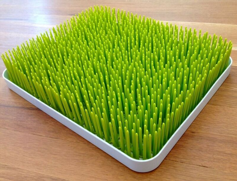 Boon Large Lawn Green Grass Countertop Drying Rack/Holder