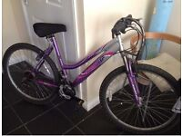 Lady Mountain Bike with accessories