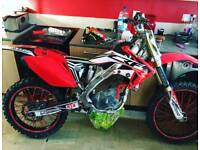 Crf 250 2006 spairs or repairs