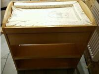 Baby mothercare changing table