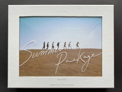 BTS-Summer Package 2016 Photobook DVD FULL SET NM- CONDITION
