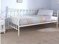 Single day bed with mattress