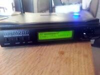 Ashton Wireless Microphone System AWM200 with mic headset, lapel mic, gtr lead