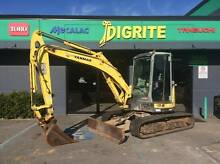 Yanmar VIO55 Zero Swing 5T Excavator price drop for Easter ! Welshpool Canning Area Preview