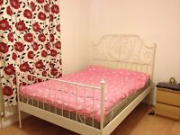 Large furnished double, £420pcm incl all bills, free wifi, off-road parking, available NOW