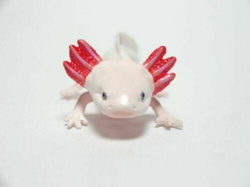 Retired Kaiyodo Axolotl Mexican salamander PVC mini figure figurine Model A