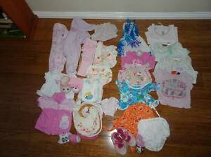 Baby girl clothes 35 pieces size 00-1 Edens Landing Logan Area Preview