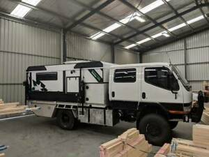 4X4 CANTER WITH SLIDE ON CAMPER