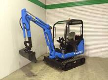 Bobcat 323 Mini Excavator 1.6 Ton with Hitch and Bucket Welshpool Canning Area Preview