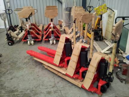 PALLET JACK HIGH LIFT 800MM HEIGHT, FORKLIFT Tingalpa Brisbane South East Preview