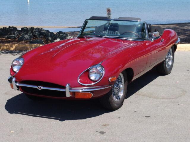 Imagen 1 de Jaguar E-type burgundy