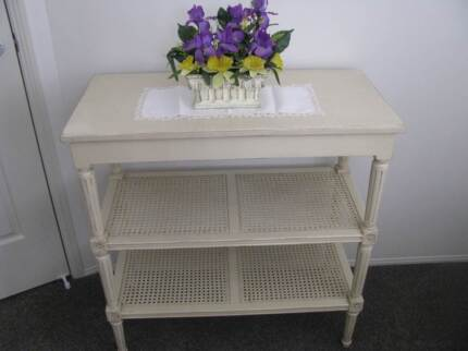HALL TABLE / DISPLAY SHELVES FRENCH YVES DELORME FURNITURE NEW Sunnybank Brisbane South West Preview