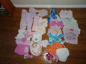 Baby girl clothes, 35 pieces, size 00-1 Edens Landing Logan Area Preview