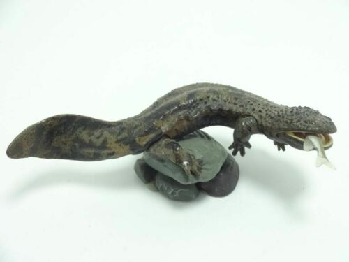 Kaiyodo Natural Monuments of Japan Japanese giant salamander mini figure model