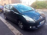 2010 Peugeot 5008 Pco licence