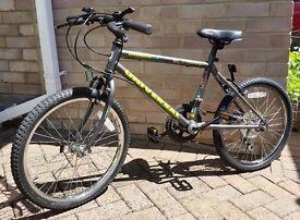 Mountain Bike Children's : 12 Gears 20 inch Wheels (Aged 8+ )