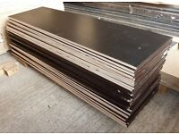 6 NEW Pieces of RIGGA 12mm Phenolic Resin Coated Plywood 48in x 14½in (1220mm x 370mm)